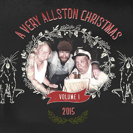 """A Very Allston Christmas Vol. 1"" cover art"