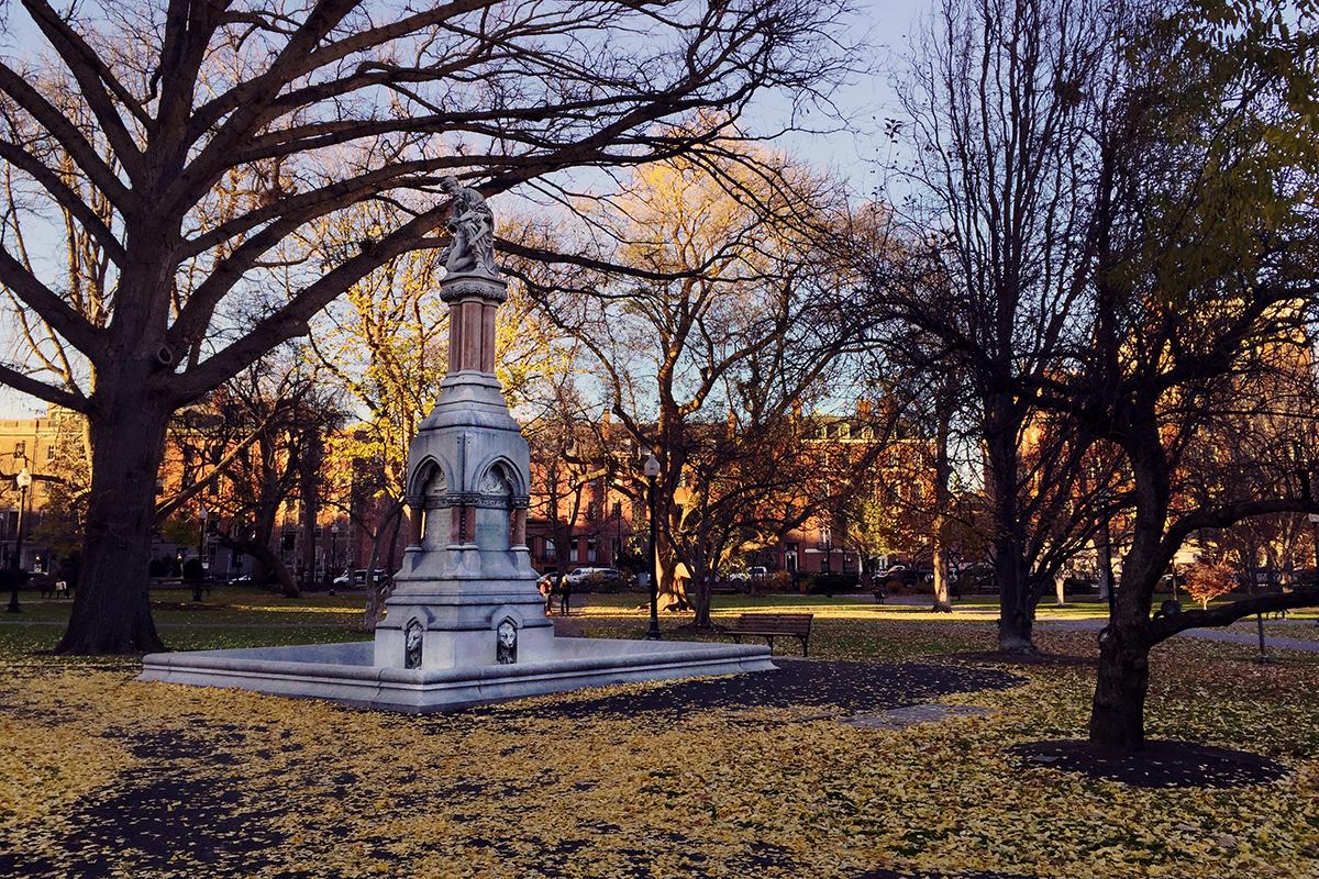 public art boston common public garden