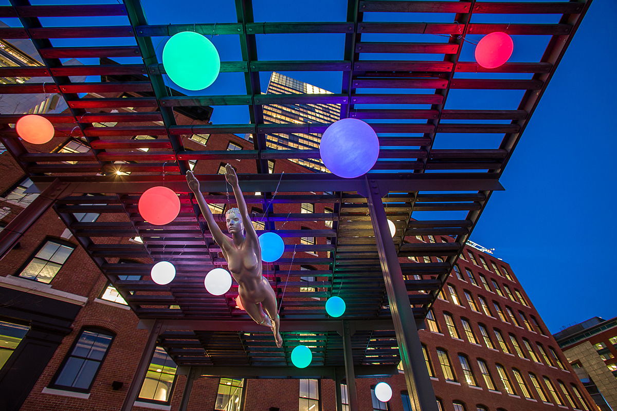 celestial public art downtown boston