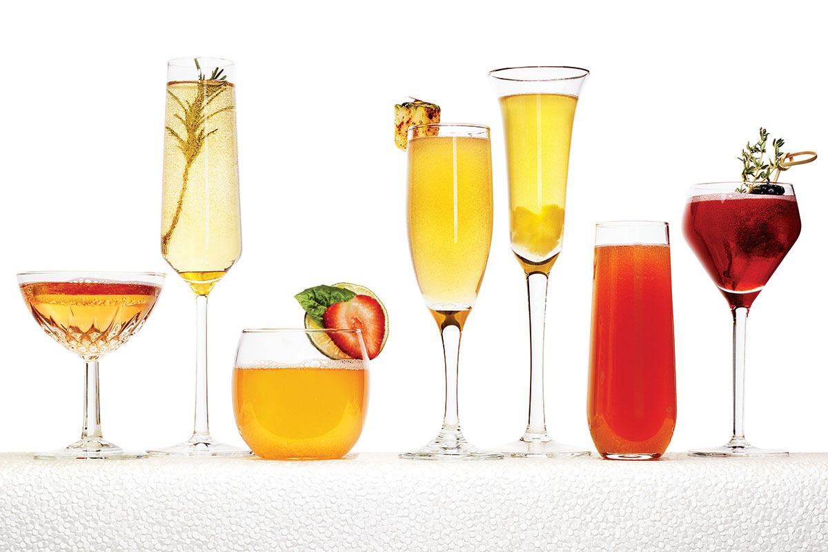 champagne cocktails recipes