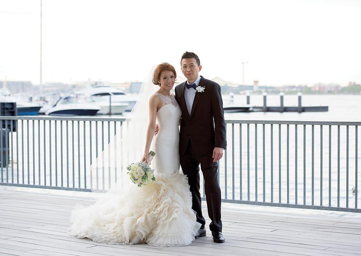 mandy li daniel fu wedding