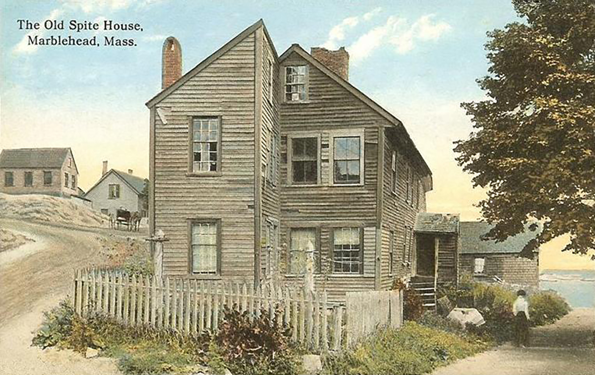 The Old Spite House photo via Wikimedia Commons