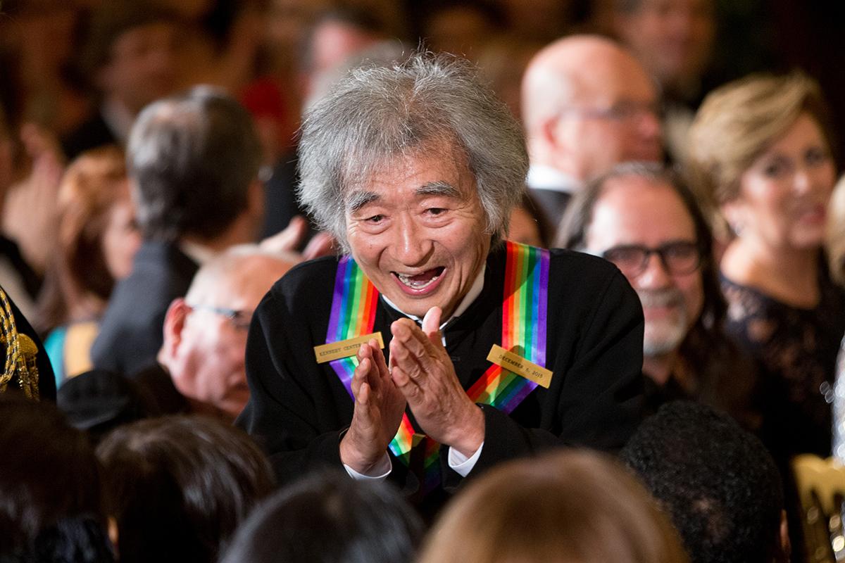 seiji ozawa kennedy center honors