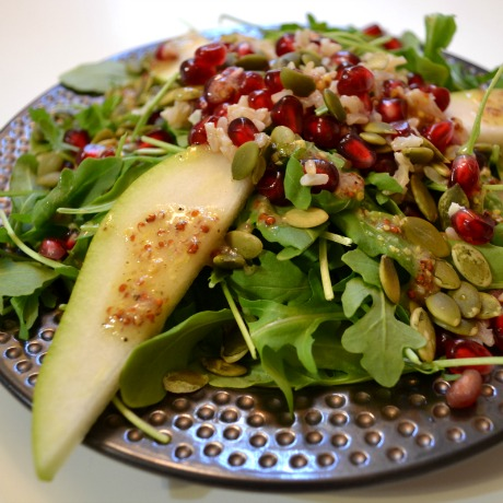 pear salad square