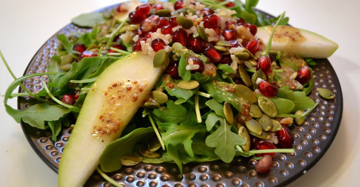 Recipe: Arugula and Pomegranate Salad