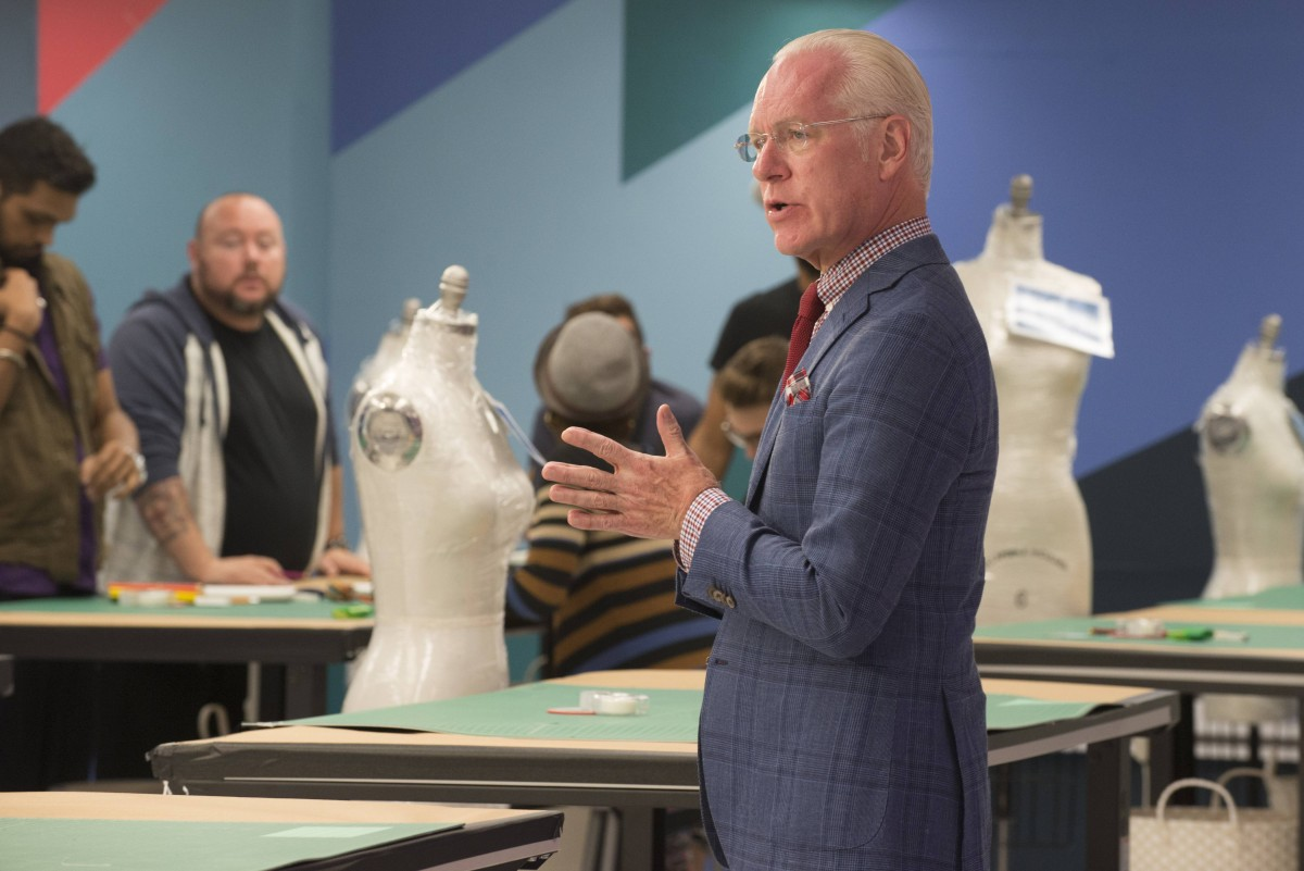 Tim Gunn stars in Project Runway season 14, airing Thursday, September 3, at 9pm ET/PT on Lifetime. Photo by Barbara Nitke Copyright 2015