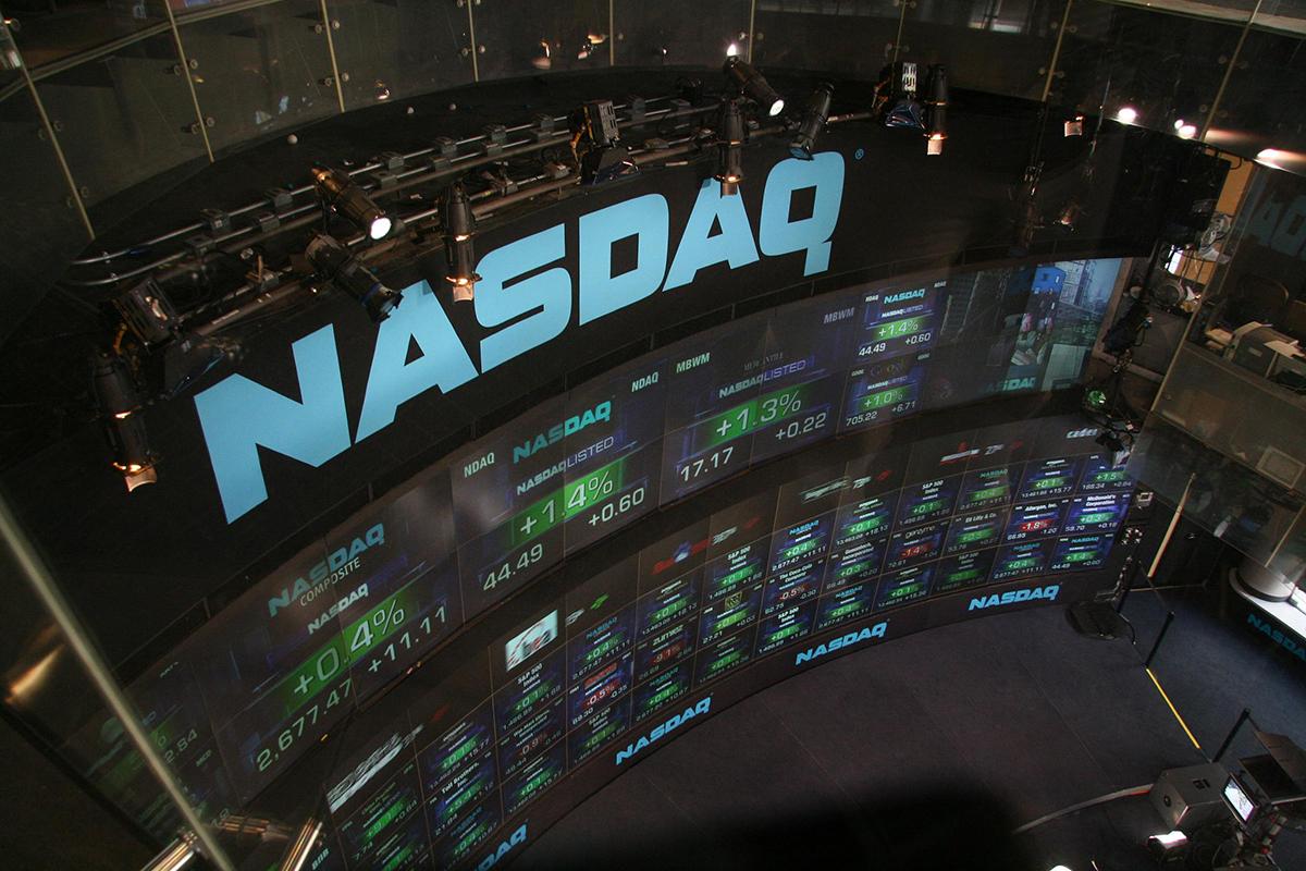 Stock market photo via Wikimedia Commons