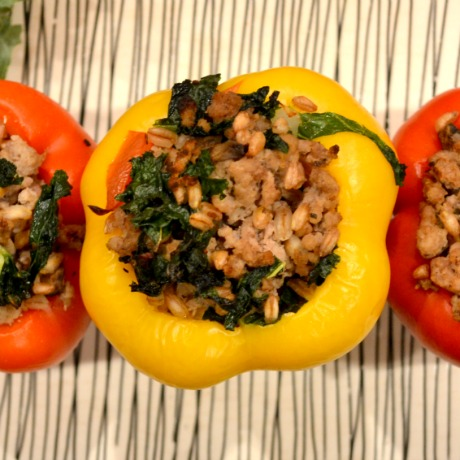 stuffed peppers square