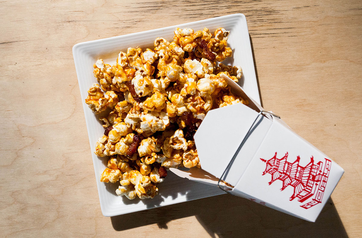 Backbar's bacon popcorn