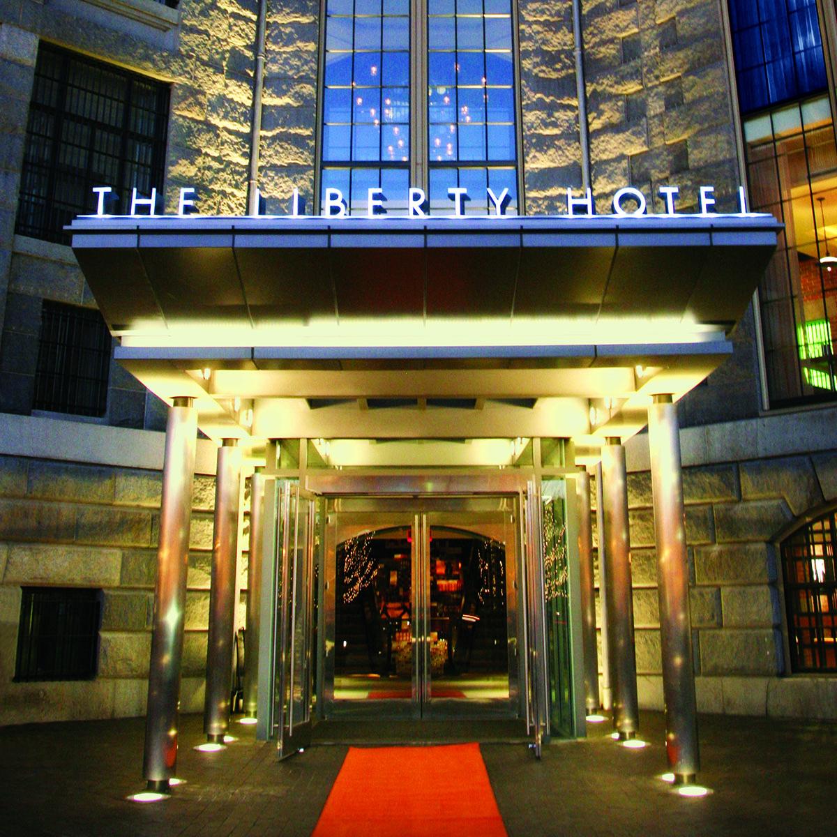 Liberty Hotel entrance