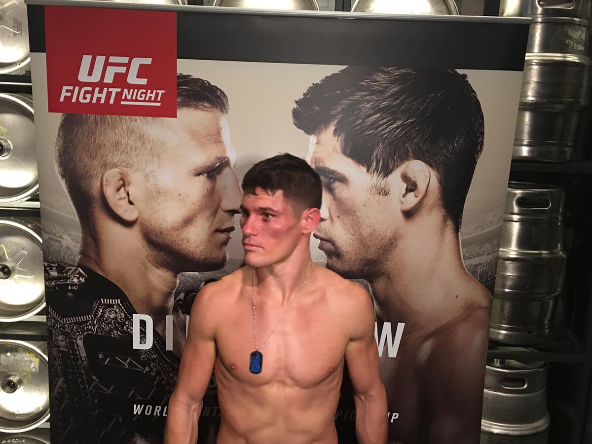 UFC featherweight Charles Rosa by Garrett Quinn