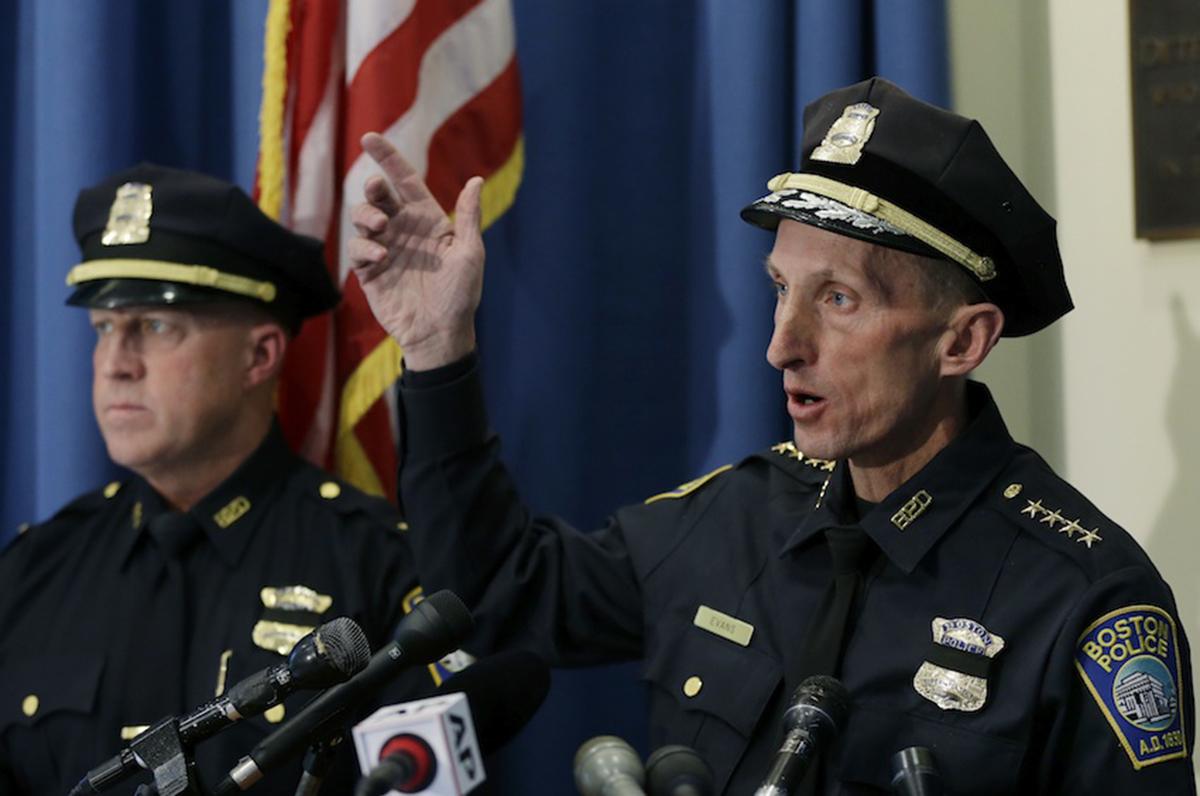 Boston Police Commissioner William Evans