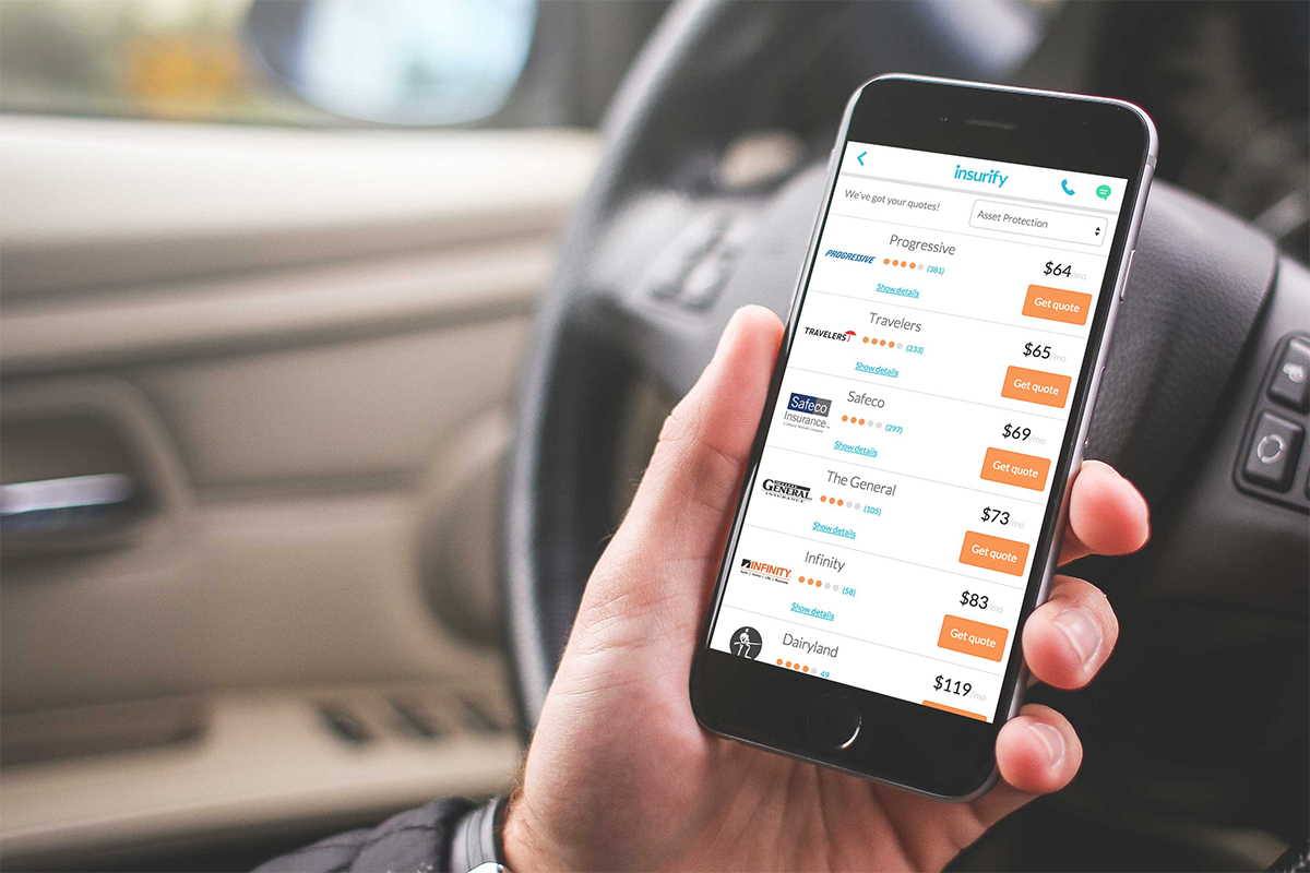 Dairyland Auto Insurance Quote Insurify Launches To Take The Hassle Out Of Comparing Car