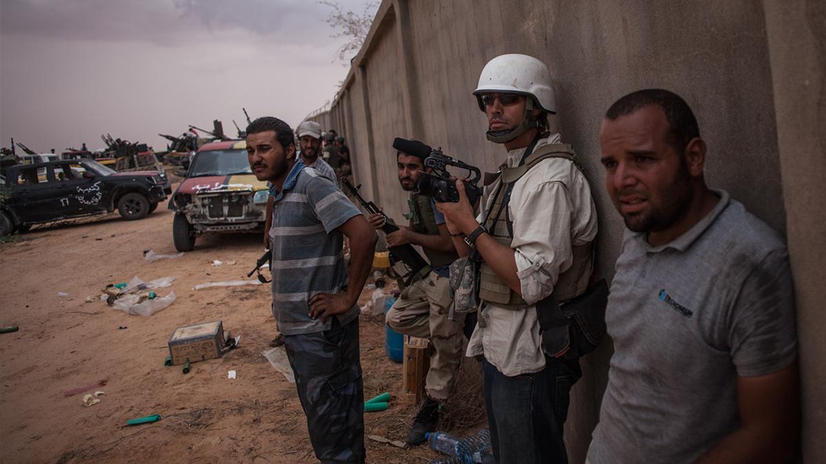 JIM James Foley in helmet by Manu Brabo