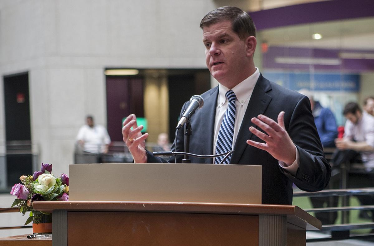 Mayor Marty Walsh Photo by City of Boston