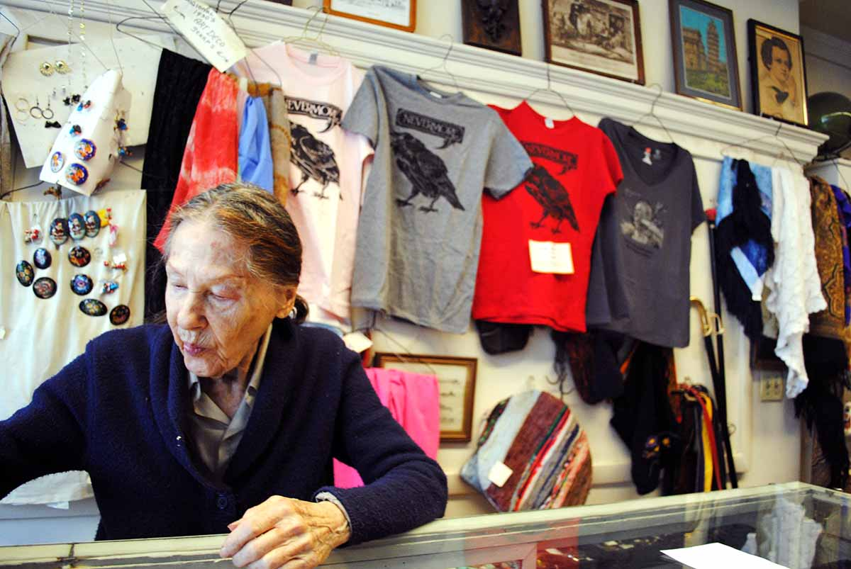 Patricia Bartevian owns Bartevian's on 160 Boylston Street / Photo by Madeline Bilis