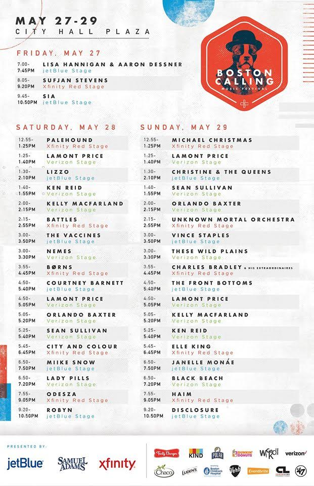 boston calling set times schedule
