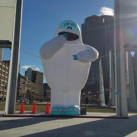 bumble snowman sq
