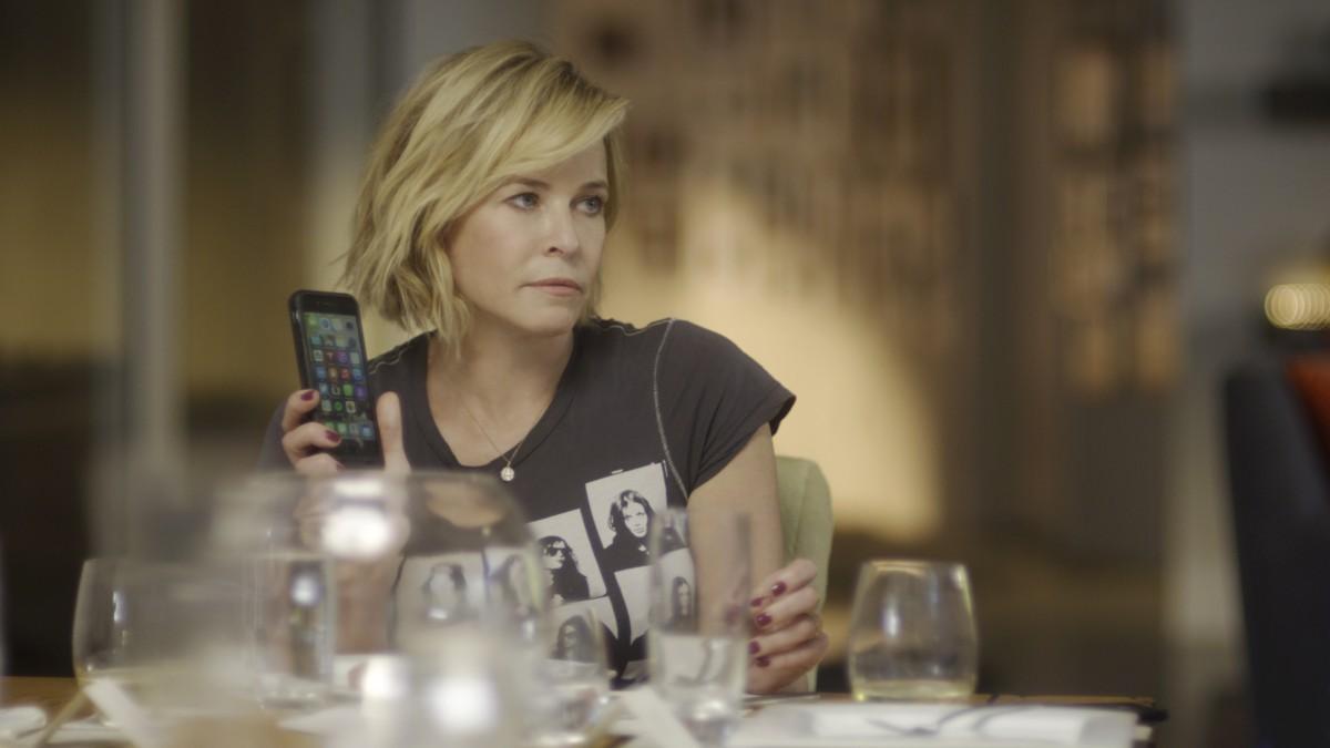 "Chelsea Handler in the Netflix original documentary series ""Chelsea Does"". Photo Credit: Saeed Adyani/Netflix"