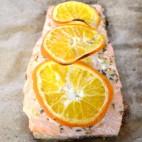 clementine salmon square