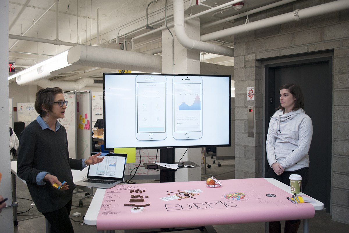 Byte Me helps to analyze human waste and what it means for a person's health. Photo by Madeline Bilis