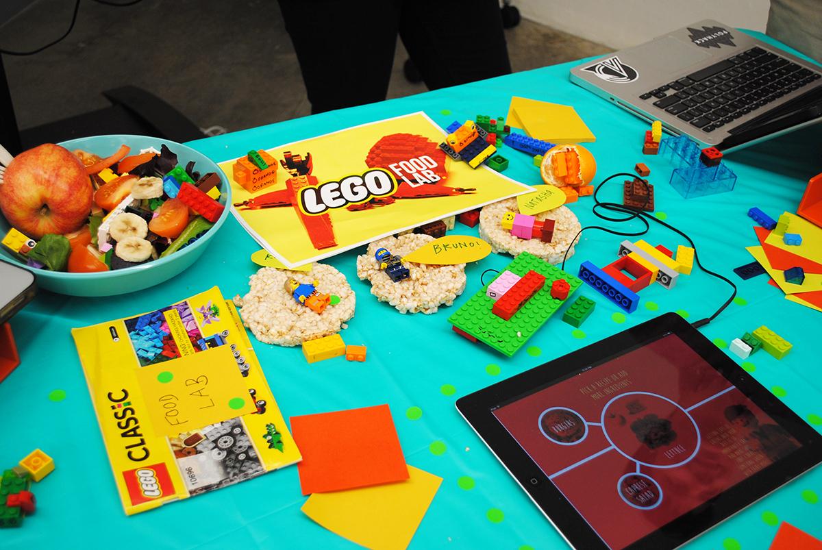 Lego Food Lab's starter kit. / Photo by Madeline Bilis