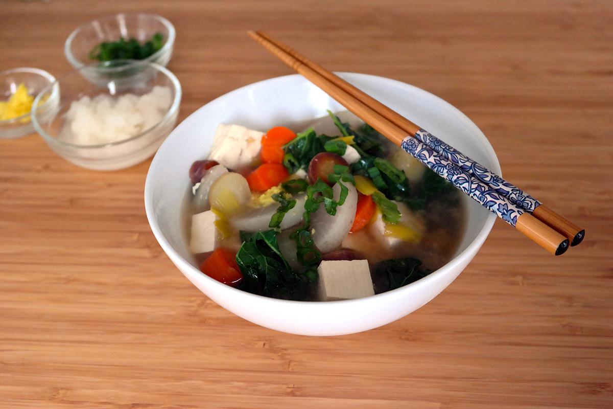 Daikon soup