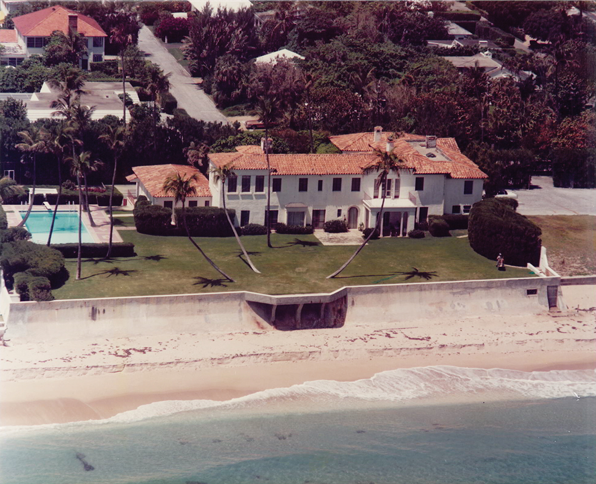 The Kennedy Winter White House in Palm Beach, Florida