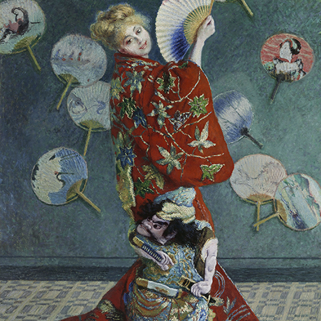 La Japonaise (Camille Monet in Japanese Costume) Claude Monet (French, 1840–1926) 1876 Oil on canvas * 1951 Purchase Fund * Photograph © Museum of Fine Arts, Boston