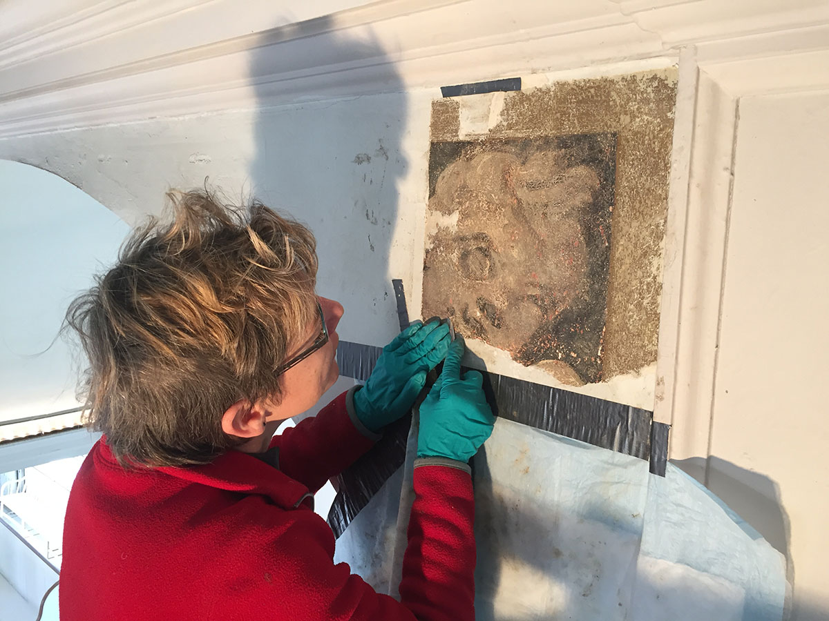 old north church paint analysis