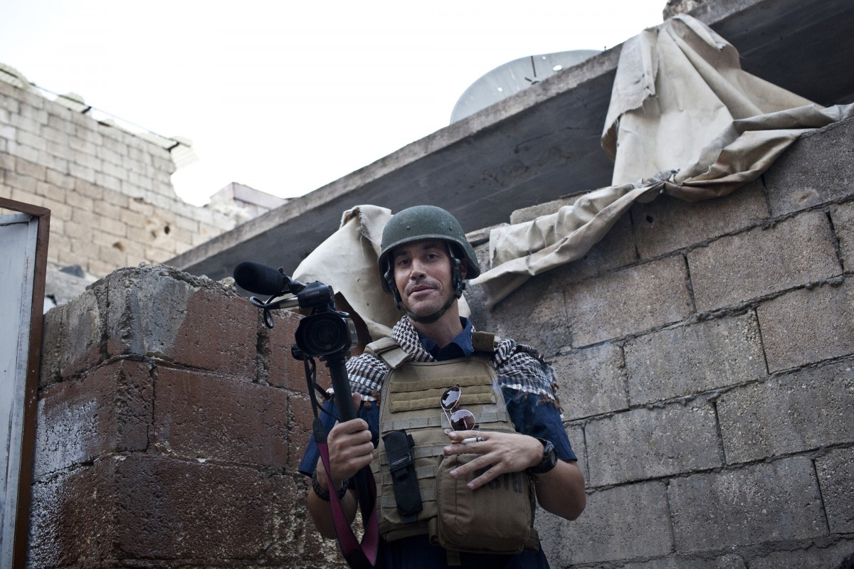 James Foley Photo by Nicole Tung / HBO