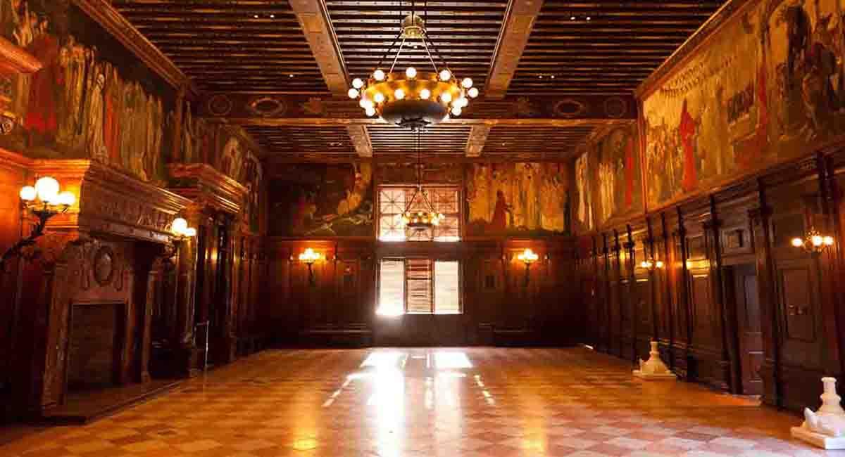 Boston Public Library Yoga Abbey Room