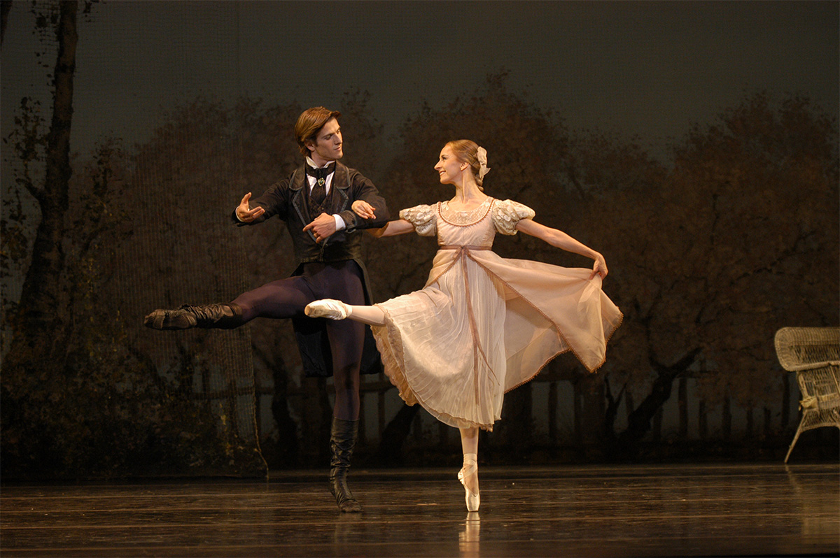 John Cranko's Onegin by the Boston Ballet