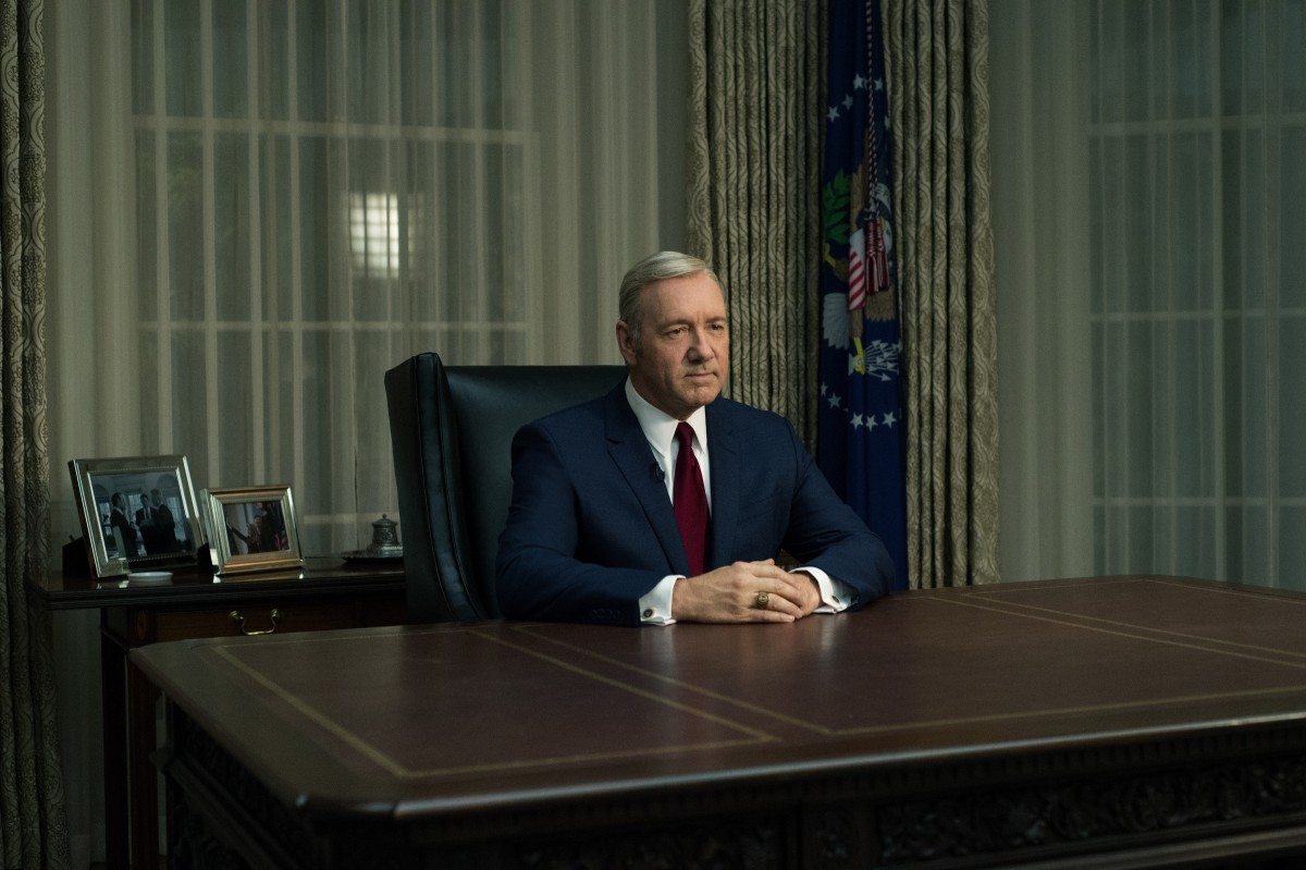 Kevin Spacey in 'House of Cards' Photo by David Giesbrecht / Netflix