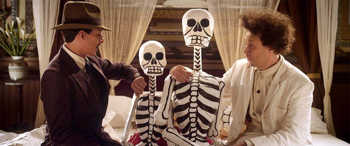 Luis Alberti and Elmer Bäck in 'Eisenstein in Guanajuato'. Image provided.