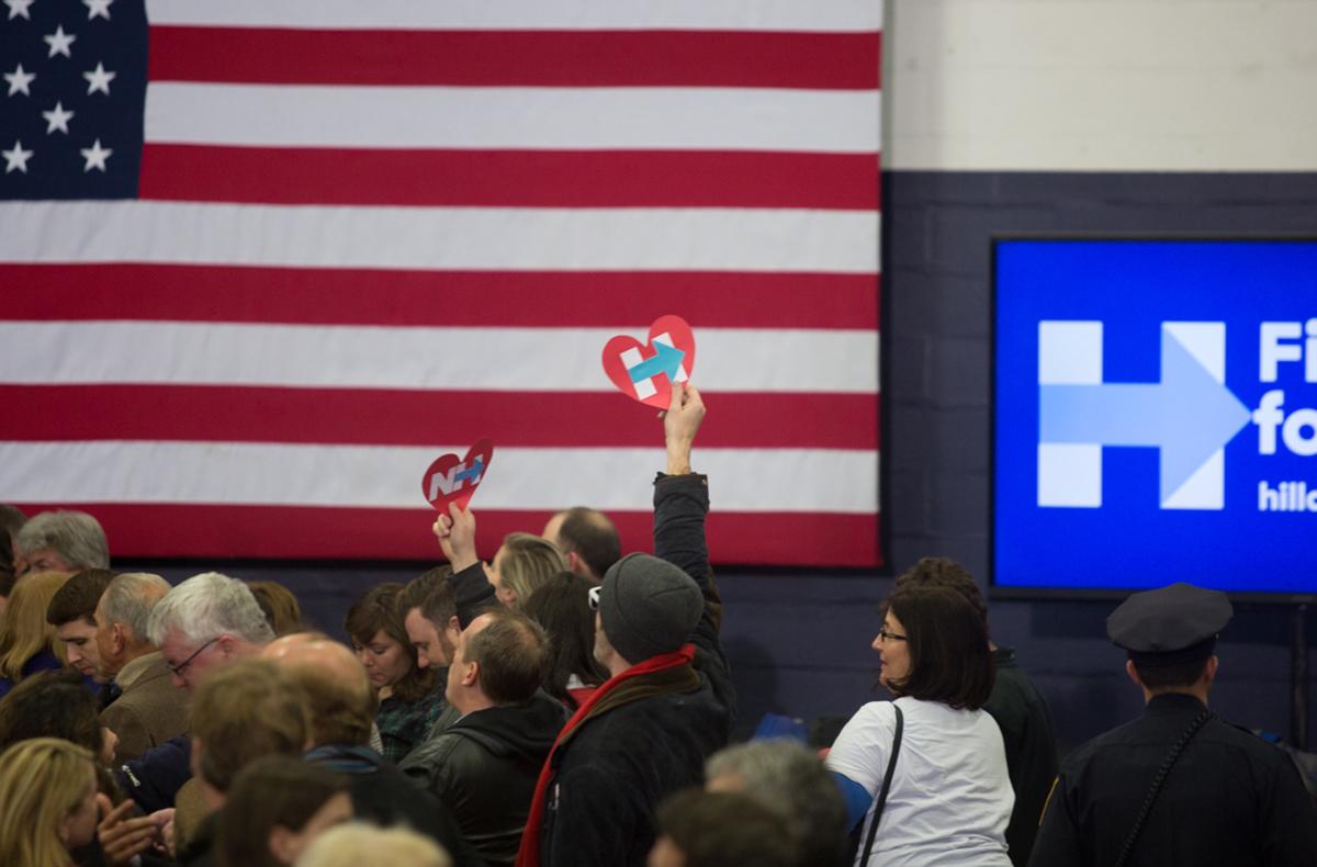 New Hampshire Primaries 2016 Election 17