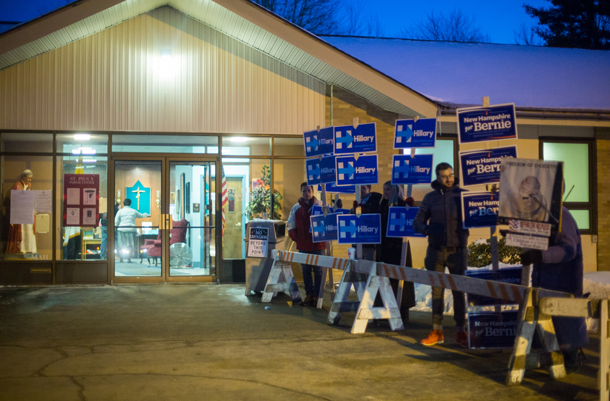 New Hampshire Primaries 2016 Election 9