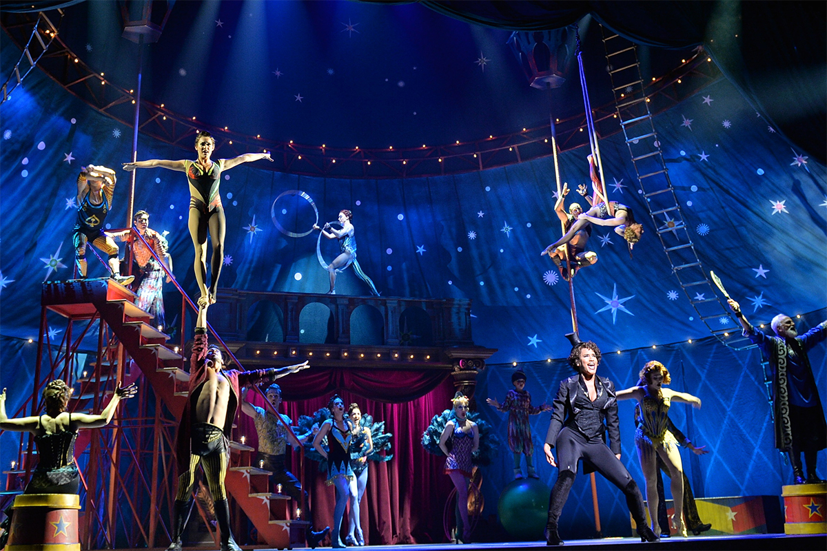 Pippin at the Boston Opera House