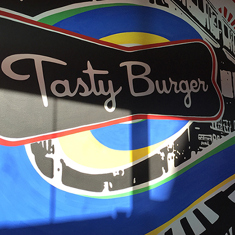 Tasty Dudley-mural square
