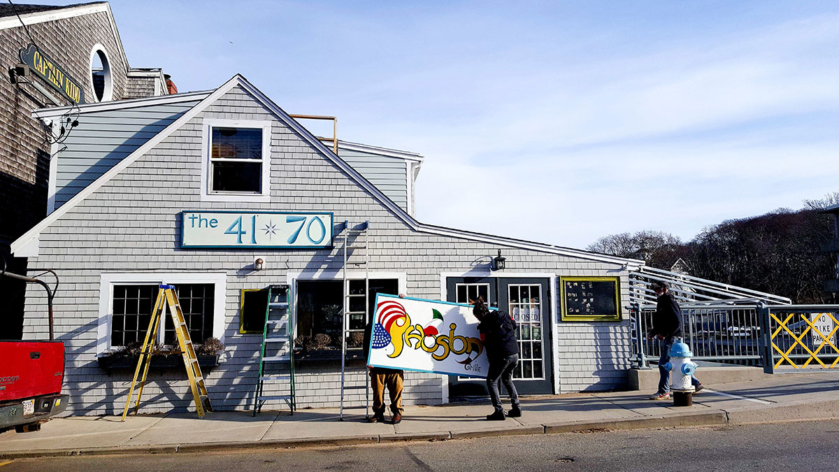 Ribelle Alumni To Open The 41 70 In Woods Hole