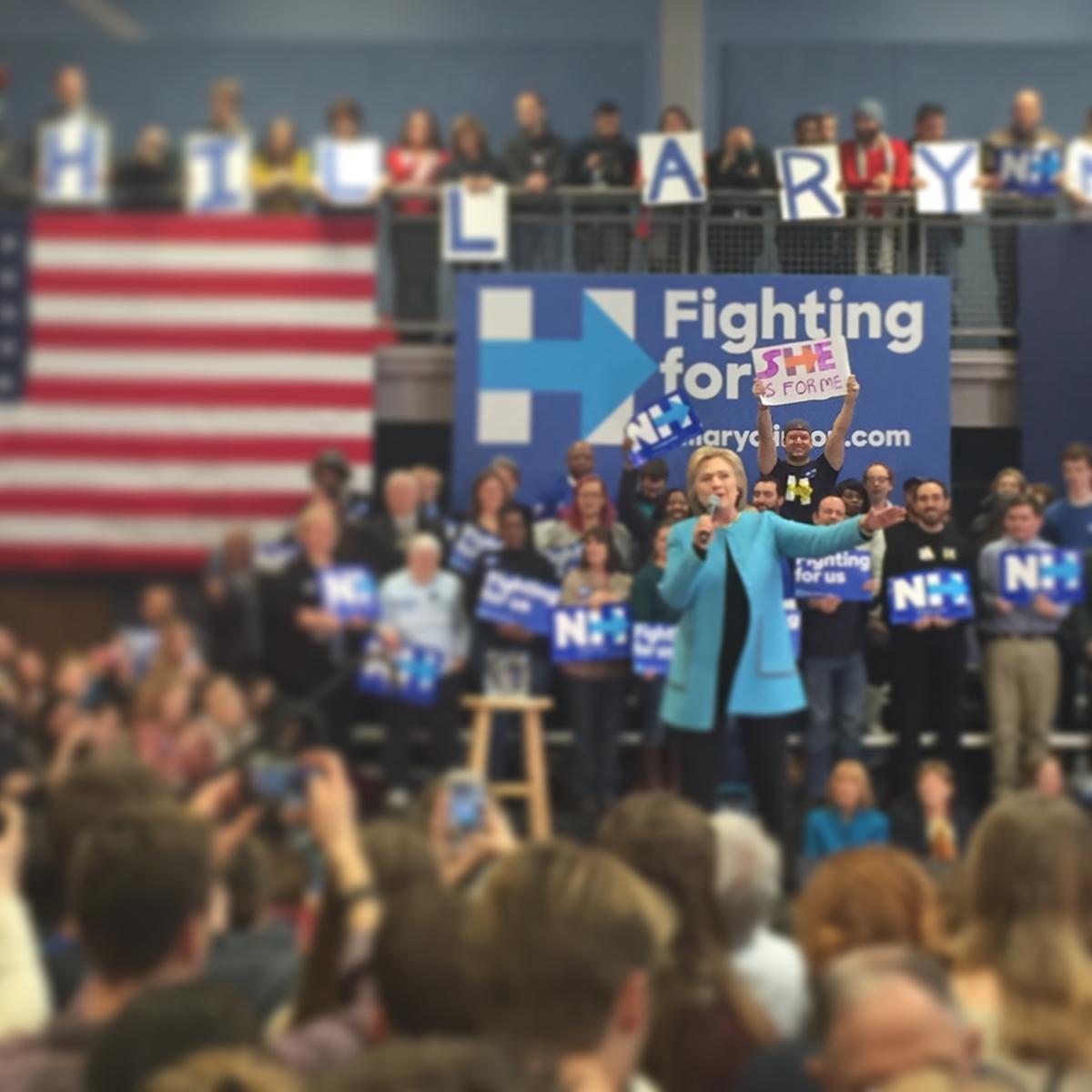 Tom DAngora Hillary Clinton