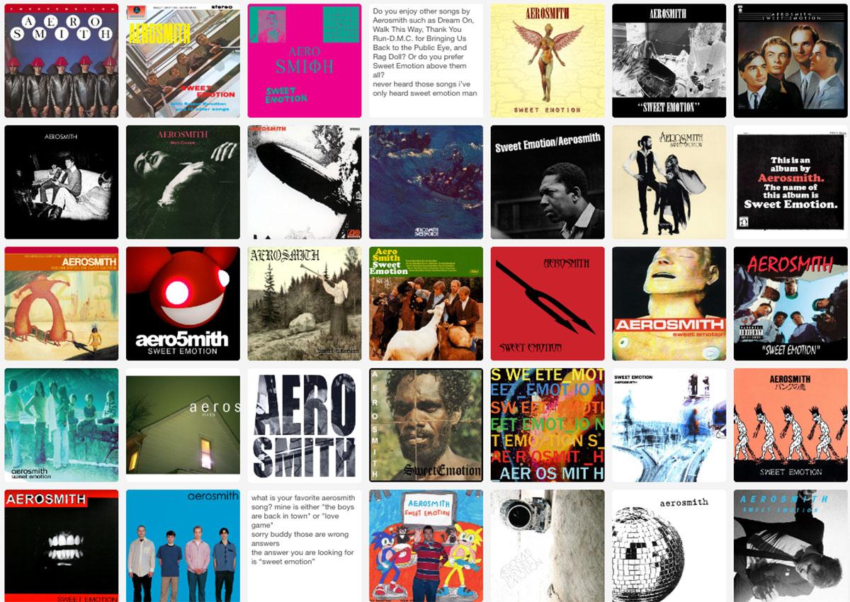 Every Album Is Aerosmith archive