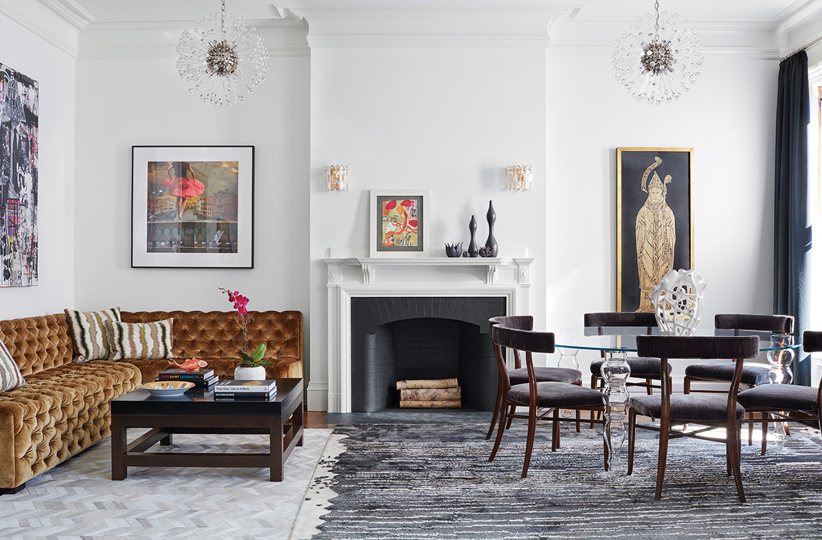 A Back Bay Brownstone With Glamour And Grace Boston Magazine