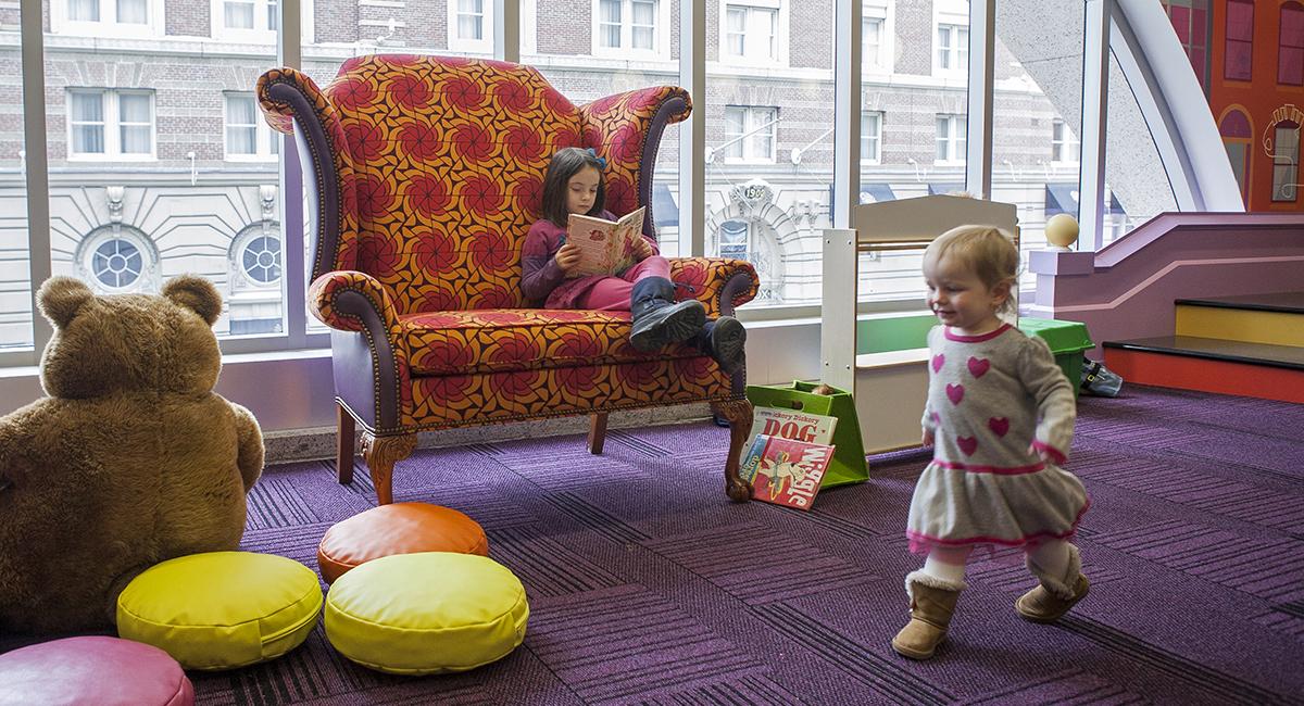 boston public library childrens area
