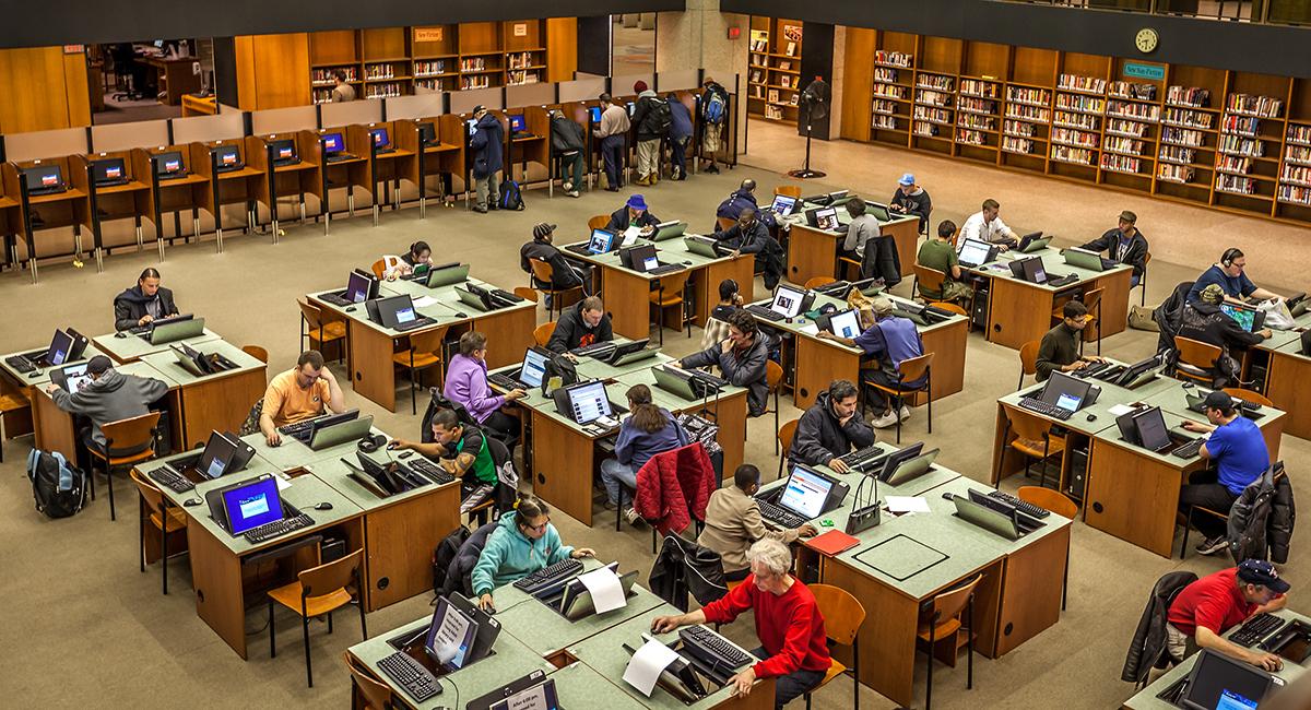 boston public library computers
