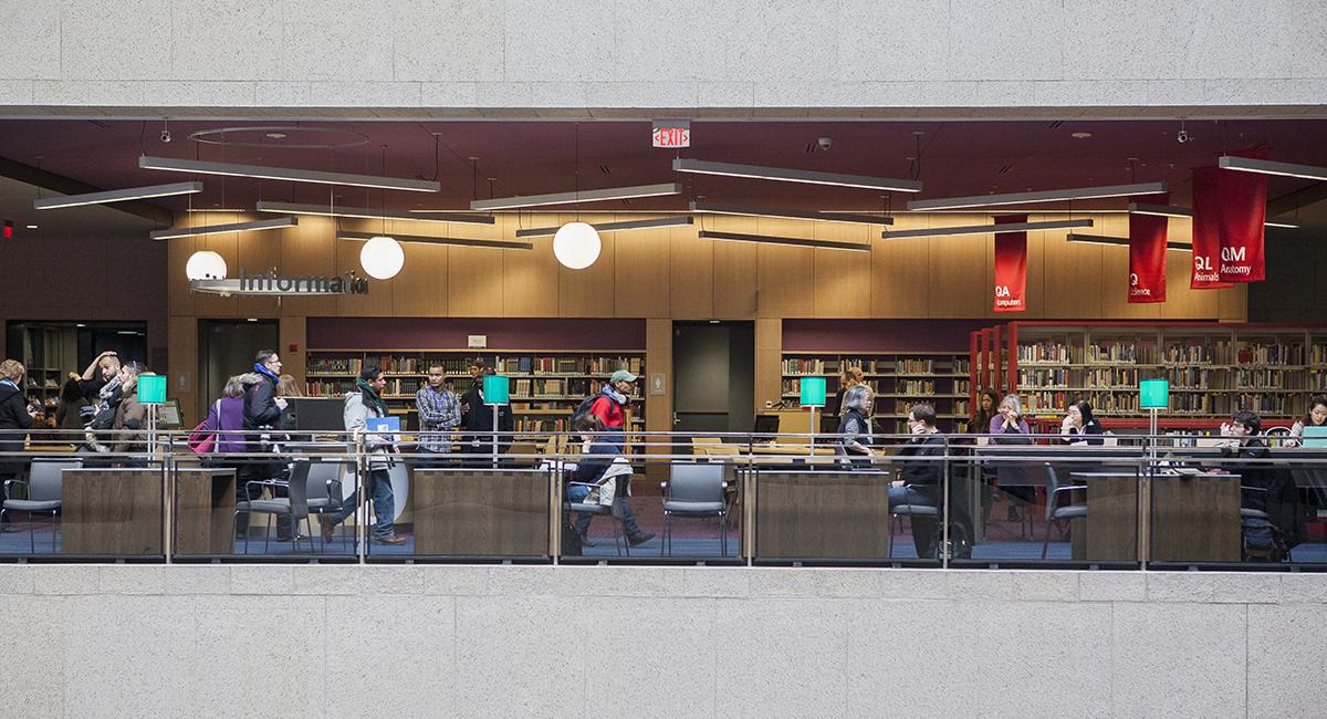 boston public library johnson building