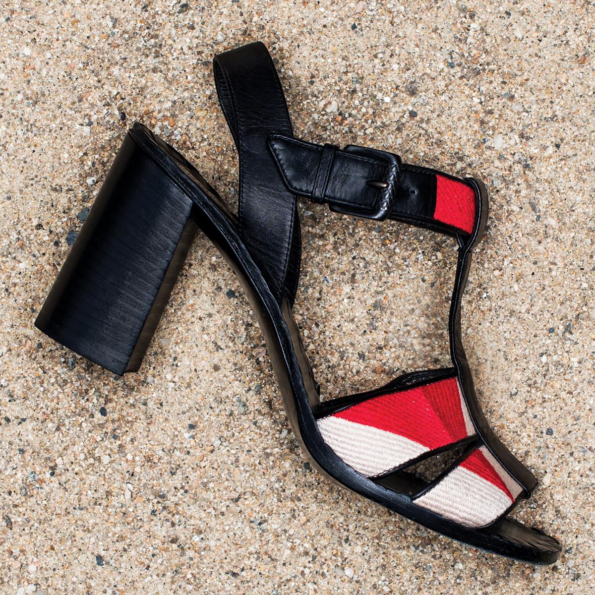 bottega veneta calfskin leather sandals