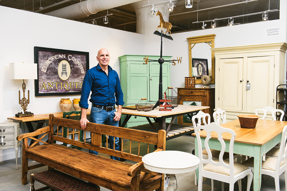 An Antique Market Opened At The Boston