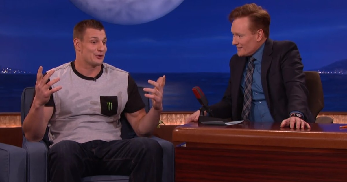 Rob Gronkowski Brought The Party To Conan