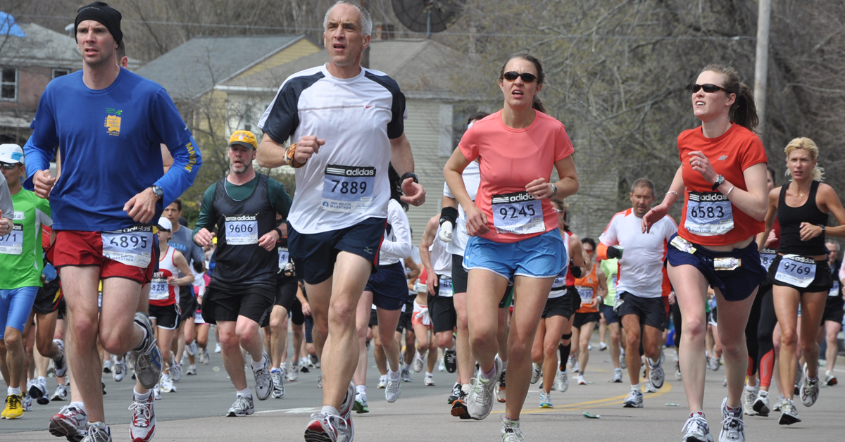 Boston Marathon photo